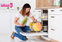 كيفية تنظيف غسالة الصحون